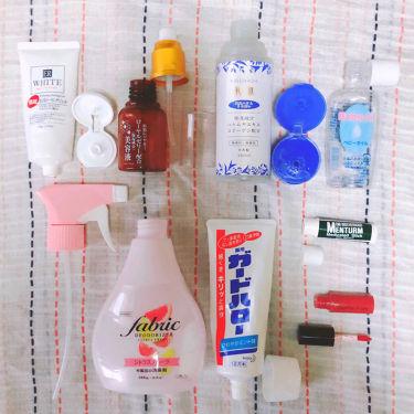 ファブリック デオドライザー 300ml/DAISO/香水(その他)を使ったクチコミ(1枚目)