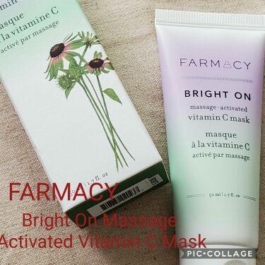 Bright On Massage Activated Vitamin C Mask/FARMACY/洗い流すパック・マスクを使ったクチコミ(1枚目)