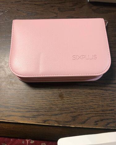 SIXPLUS ピンクのメイクブラシ11本セット/SIXPLUS/メイクブラシを使ったクチコミ(2枚目)