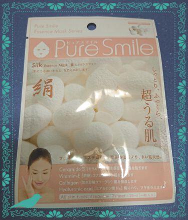エッセンスマスク 絹/Pure Smile/シートマスク・パックを使ったクチコミ(1枚目)