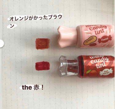 ムース キャンディー ティント/the SAEM/リップグロスを使ったクチコミ(2枚目)