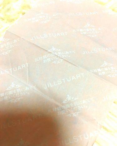 ブロッティングペーパー N/JILL STUART/あぶらとり紙を使ったクチコミ(3枚目)