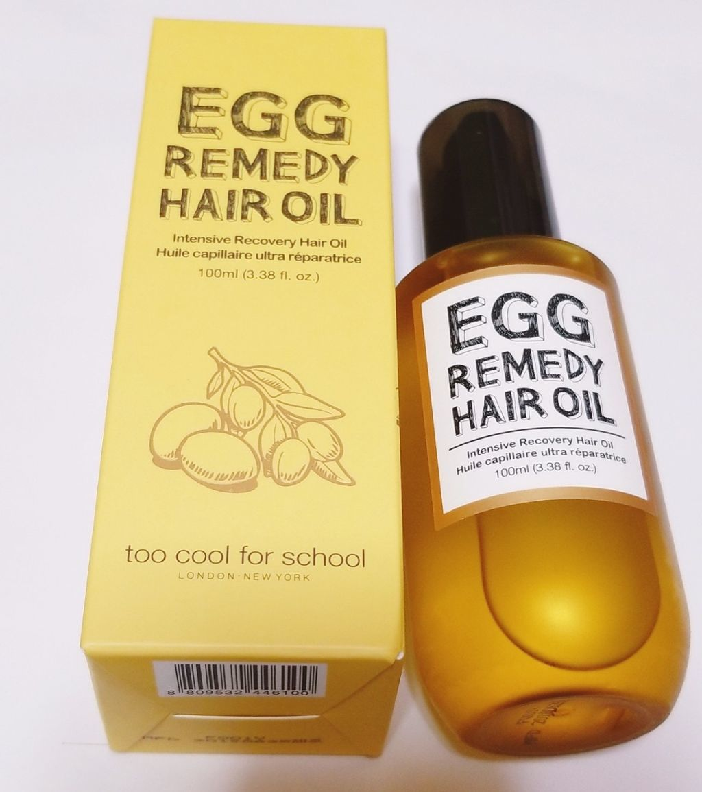 too cool for school egg remedy hair oil