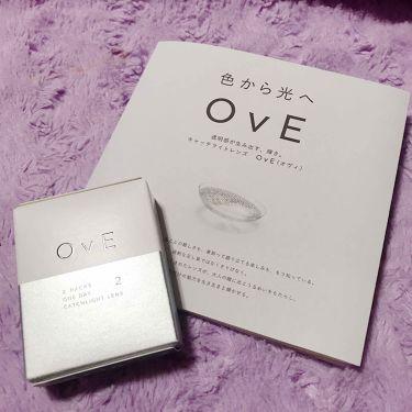OvE/OvE/カラーコンタクトレンズを使ったクチコミ(1枚目)