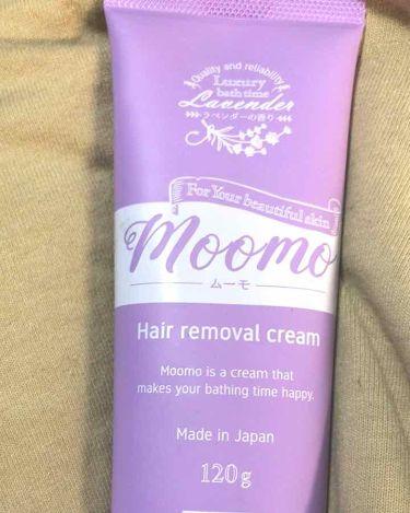 脱毛クリーム MOOMO/自然化粧品研究所/ボディ・バスグッズを使ったクチコミ(1枚目)