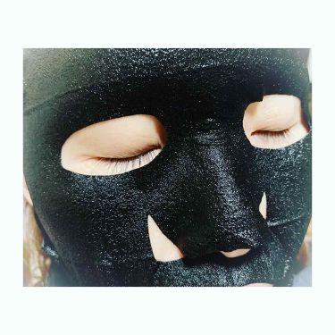 黒真珠ブラックマスク/我的美麗日記/シートマスク・パックを使ったクチコミ(3枚目)