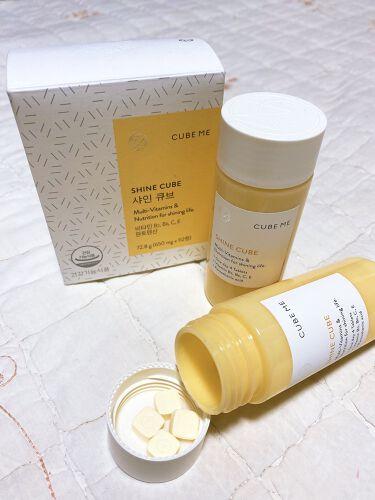 コラーゲン キューブ/cube me/美肌サプリメントを使ったクチコミ(3枚目)