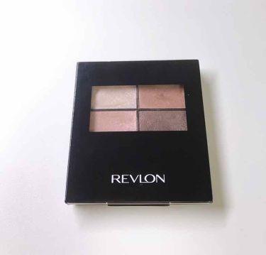 アイグロー シャドウ クワッド N/REVLON(レブロン)/パウダーアイシャドウを使ったクチコミ(1枚目)