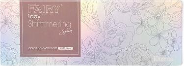 2020/7/10発売 シンシア フェアリー ワンデー シマーリングシリーズ (FAIRY1day Shimmering series)