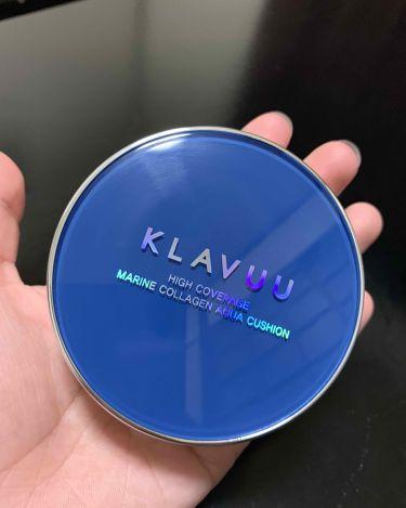 KLAVUU ブルーパールマリン コラーゲンアクアクッション/その他/リキッドファンデーションを使ったクチコミ(2枚目)