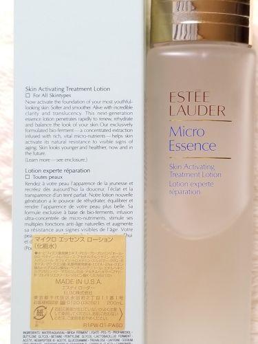 マイクロ エッセンス ローション/ESTEE LAUDER/化粧水を使ったクチコミ(2枚目)