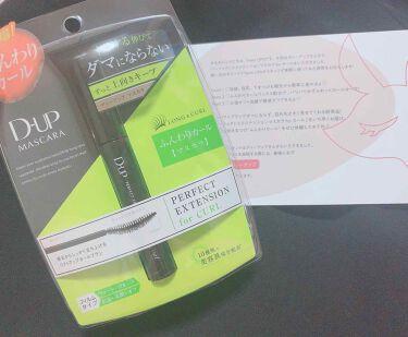 【旧品】パーフェクトエクステンション マスカラ/D-UP/マスカラを使ったクチコミ(1枚目)