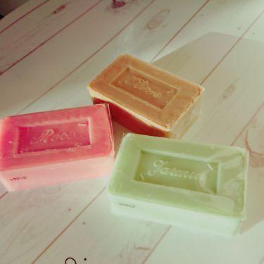 サボン・ド・マルセイユ (オリーブ)/DAISO/ボディ石鹸を使ったクチコミ(1枚目)