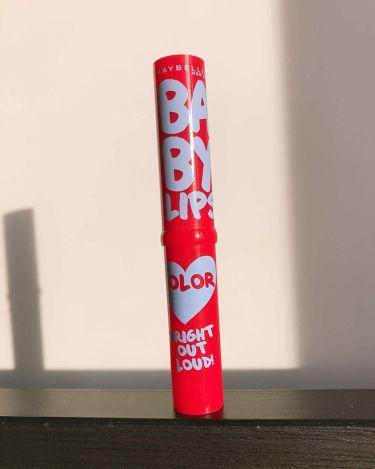 リップクリーム カラー BABY LIPS/MAYBELLINE NEW YORK/リップケア・リップクリームを使ったクチコミ(1枚目)