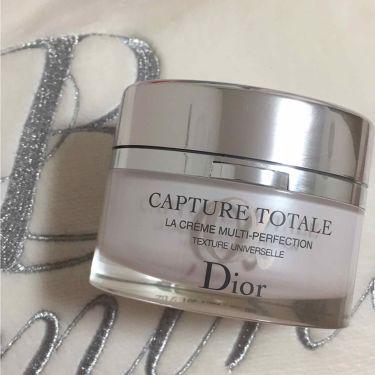 カプチュール トータル クリーム/Dior/フェイスクリームを使ったクチコミ(1枚目)
