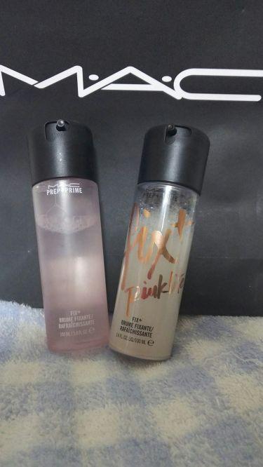 プレッププライムフィックス+ピンクライト/M・A・C/ミスト状化粧水を使ったクチコミ(1枚目)