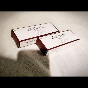 エバーカラーワンデーナチュラルモイストレーベルUV/エバーカラーワンデー/その他化粧小物を使ったクチコミ(1枚目)
