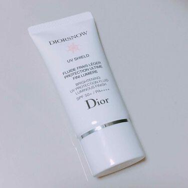 スノー ブライトニング UVプロテクション 50+/Dior/日焼け止め(顔用)を使ったクチコミ(1枚目)