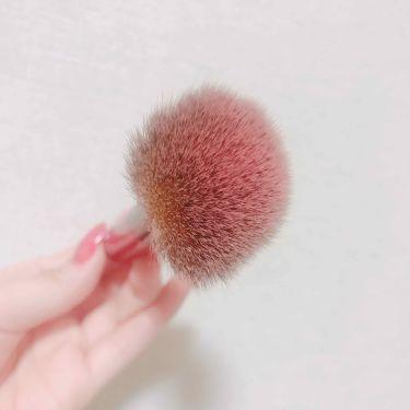 春姫 ファンデーションブラシ/ザ・ダイソー/メイクブラシを使ったクチコミ(2枚目)