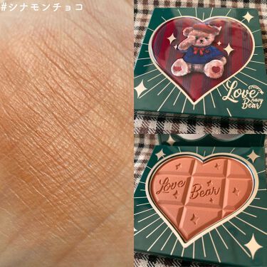 Love Bear ブラッシュ/FlowerKnows/パウダーチークを使ったクチコミ(4枚目)