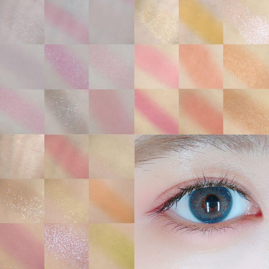大創 UR GLAM九宮格眼影盤螢光色妝效實測