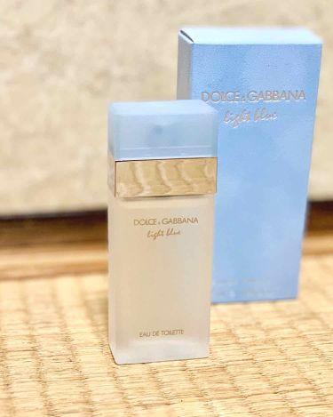 ライトブルー オードトワレ/DOLCE&GABBANA BEAUTY/香水(レディース)を使ったクチコミ(1枚目)