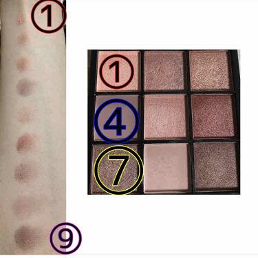 UR GLAM BLOOMING EYE COLOR PALETTE(ブルーミングアイカラーパレット)/URGLAM/パウダーアイシャドウを使ったクチコミ(3枚目)