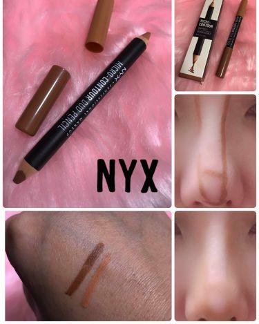 マイクロコントゥアーデュオペンシル/NYX Professional Makeup/リップライナーを使ったクチコミ(1枚目)