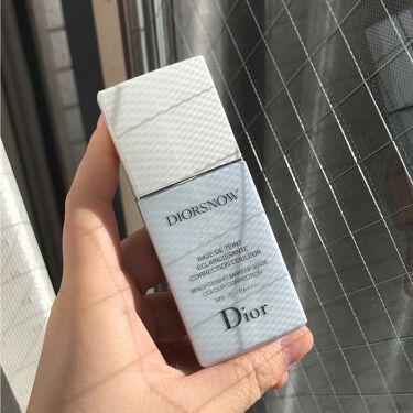 スノー メイクアップ ベース UV35 SPF35/PA+++/Dior/化粧下地 by yaeyae