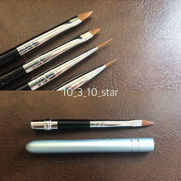 ネイル工房オリジナルジェルネイルブラシzecca筆 Liner/ネイル工房/ネイル用品を使ったクチコミ(2枚目)