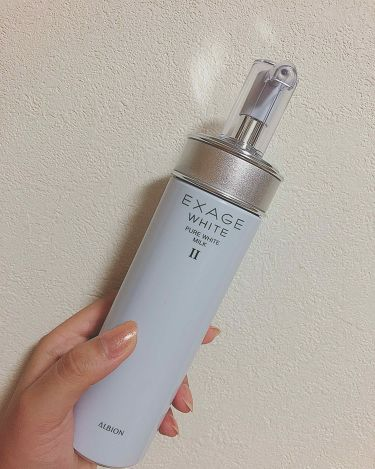 エクサージュホワイト ピュアホワイト ミルク II/ALBION/乳液を使ったクチコミ(1枚目)