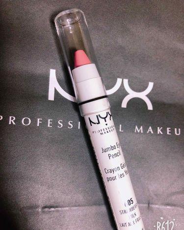 ジャンボ アイ ペンシル/NYX Professional Makeup/パウダーアイシャドウを使ったクチコミ(3枚目)