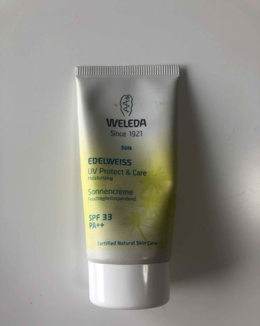 エーデルワイス UVプロテクト/WELEDA/化粧下地を使ったクチコミ(1枚目)