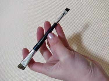 ダブルエンドアイブロウブラシ スマッジタイプ/ロージーローザ/メイクブラシを使ったクチコミ(1枚目)