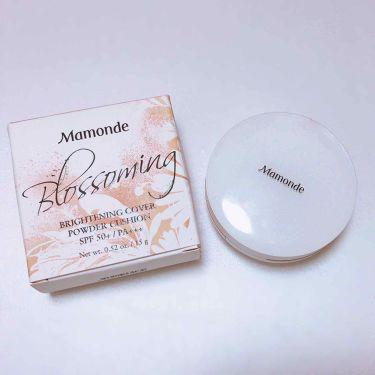 めさんの「Mamonde(マモンド/韓国)ブライトニング カバーパウダー クッション<その他ファンデーション>」を含むクチコミ