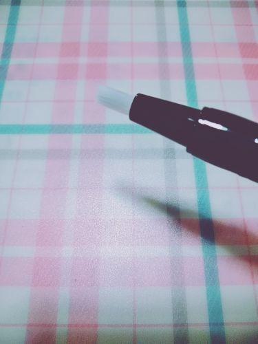 UR GLAM LIQUID ROUGE/DAISO/リップグロスを使ったクチコミ(2枚目)