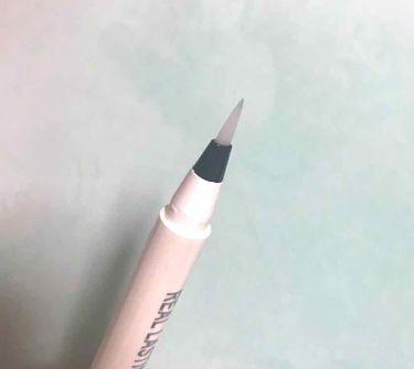 リアルラスティンググロウヴェールライナー24hWP/K-Palette/リキッドアイライナーを使ったクチコミ(3枚目)