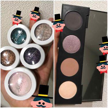 鮭子さんの「ColourPop(カラーポップ)super shock shadow<パウダーアイシャドウ>」を含むクチコミ