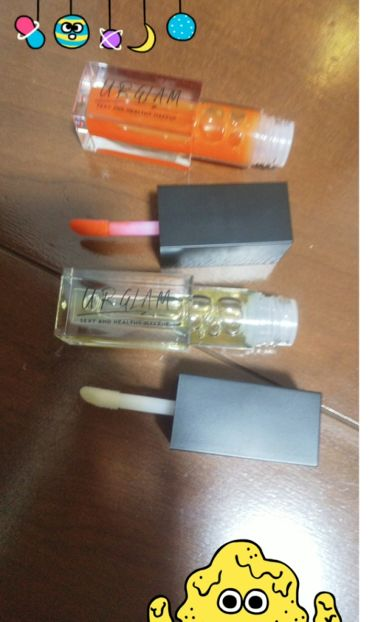 UR GLAM LIP OIL/DAISO/リップグロスを使ったクチコミ(3枚目)