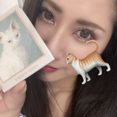 アイシャドウ猫シリーズ/Venus Marble(ヴィーナスマーブル)/パウダーアイシャドウを使ったクチコミ(6枚目)