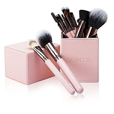 SIXPLUS ピンク色 メイクブラシ15本セット/SIXPLUS/メイクブラシを使ったクチコミ(1枚目)