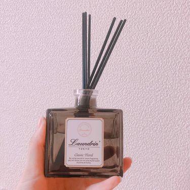 【画像付きクチコミ】ワンルーム8畳だと全体に香りが広がり嫌な匂いもすぐ消える気がしました。帰宅後いい匂いに包まれる感じがして幸せな気持ちになれます。✩°。⋆リピート予定