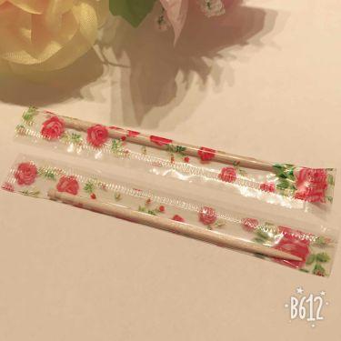 花柄個包装つまようじ/DAISO/その他オーラルケアを使ったクチコミ(3枚目)