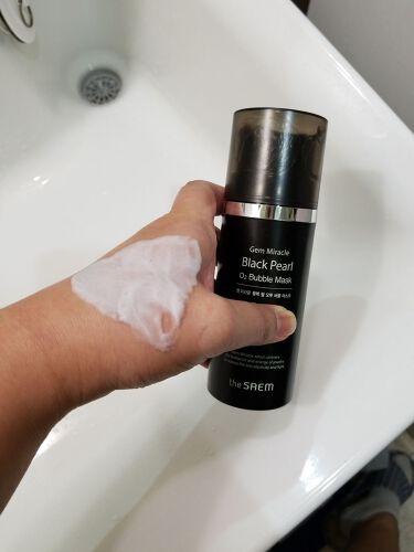 GMブラックパール O2バブルマスク/the SAEM/洗い流すパック・マスクを使ったクチコミ(1枚目)