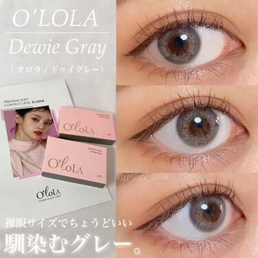 ドゥイ(Dewie)/OLOLA/カラーコンタクトレンズを使ったクチコミ(1枚目)