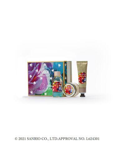 2021/8/19発売 SABON ボディケアキット(FLORAL BLOOMING Limited Collection)