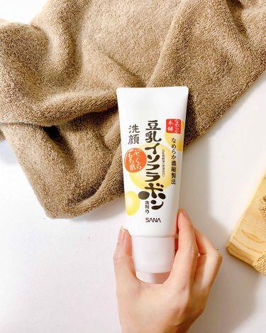 クレンジング洗顔 NA/なめらか本舗/洗顔フォームを使ったクチコミ(2枚目)
