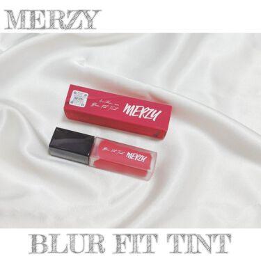 BLUR-FIT TINT/MERZY/口紅を使ったクチコミ(1枚目)