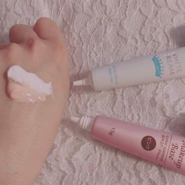 エスポルール メイクアップベース/DAISO/化粧下地を使ったクチコミ(3枚目)