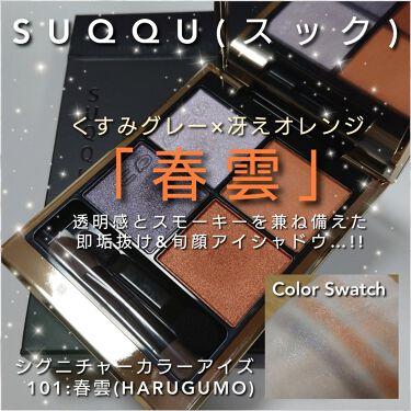 シグニチャー カラー アイズ/SUQQU/パウダーアイシャドウを使ったクチコミ(1枚目)